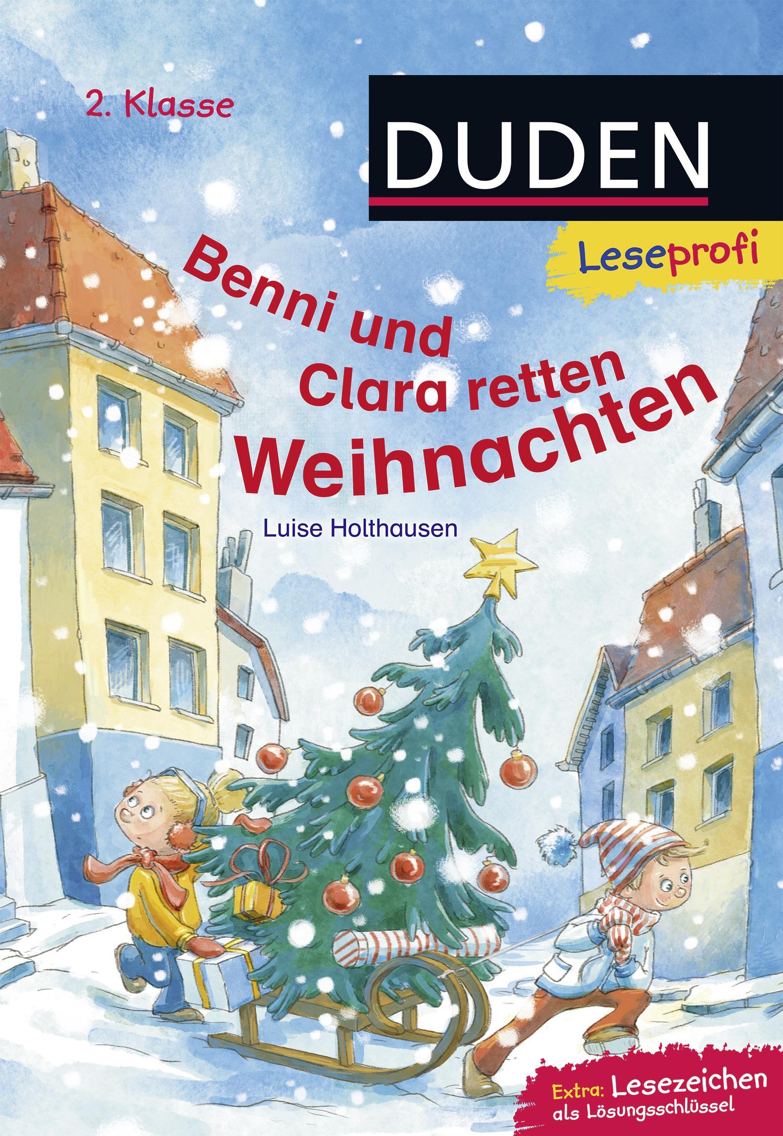 Leseprofi-Benni-und-Clara-retten-Weihnachten-2-Klasse-Luise-Holthausen