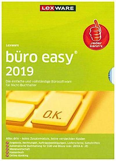 Lexware büro easy 2019, 1 DVD-ROM
