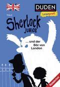 Duden Leseprofi - Sherlock Junior und der Bär von London, Erstes Englisch