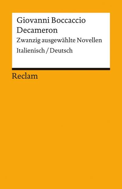 decameron-zwanzig-ausgewahlte-novellen-italienisch-deutsch-reclams-universal-bibliothek-
