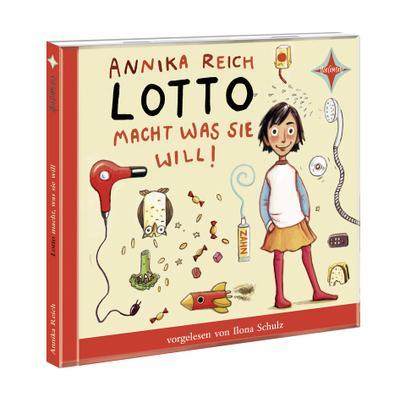 Lotto macht, was sie will: Sprecher: Ilona Schulz. 1 CD. Laufzeit ca. 1 Std. 15 Min. - Hörcompany - Audio CD, Deutsch, Annika Reich, ,