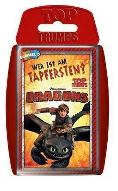 Winning Moves WIN61953 - Kartenspiele, Top Trumps, Dragons, Drachen zähmen leicht gemacht - Winning Moves - Spielzeug, Deutsch, , ,
