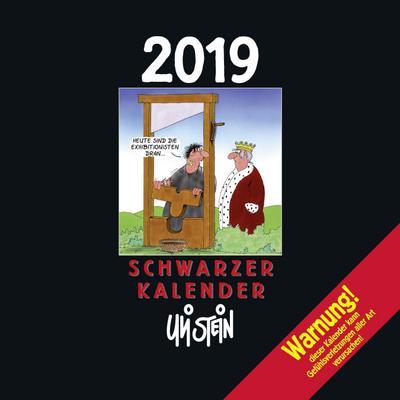 Uli Stein Schwarzer Kalender 2019 - Lappan - Kalender, Deutsch, Uli Stein, ,