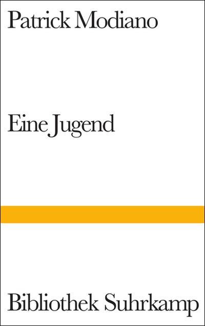 Eine Jugend: Roman (Bibliothek Suhrkamp)