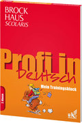 Brockhaus Scolaris Profi in - Mein Trainingsblock: Deutsch 2. Klasse