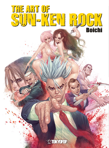 Boichi-The-Art-of-Sun-Ken-Rock-9783842030169