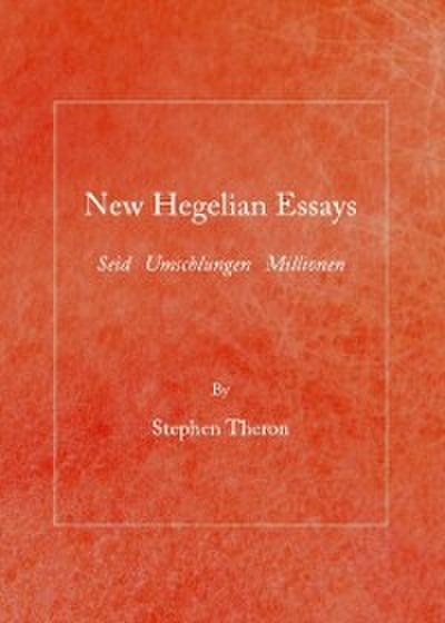 hegel three essays