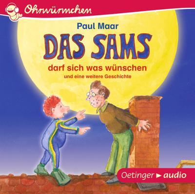 Das Sams darf sich was wünschen und eine weitere Geschichte (CD): Ungekürzte Lesungen mit Geräuschen und Musik, ca. 30 min.
