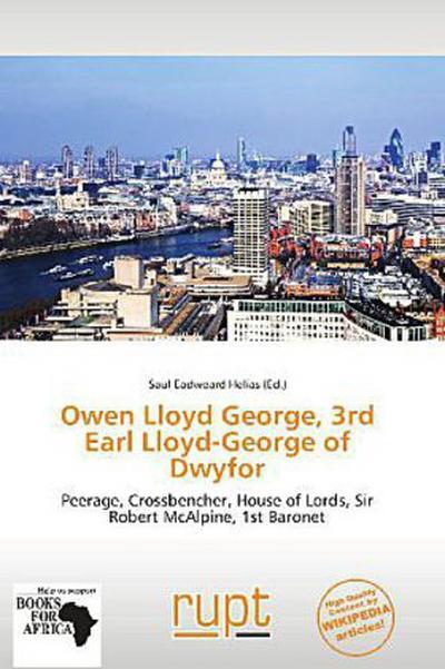 OWEN LLOYD GEORGE 3RD EARL LLO