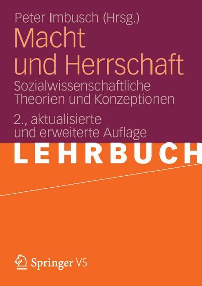 macht-und-herrschaft-sozialwissenschaftliche-theorien-und-konzeptionen, 24.89 EUR @ rheinberg