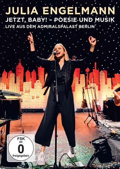 Jetzt, Baby! - Poesie und Musik - Live aus dem Admiralspalast Berlin - Universal, Music, DVD - DVD, Deutsch, Julia Engelmann, ,