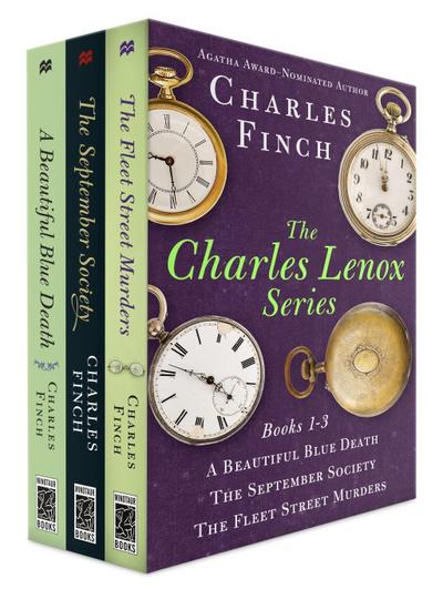 Charles Lenox Series, Books 1-3