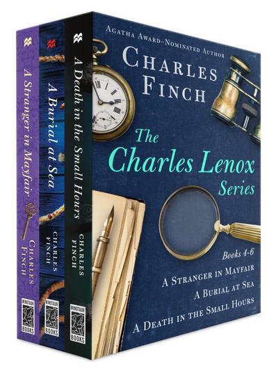 Charles Lenox Series, Books 4-6
