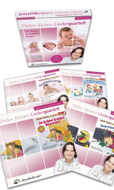 Detlev Jöckers Liederquartett: Für Babys und Krabbelkinder