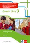 Green Line 3. Trainingsbuch mit Audio-CD. Ausgabe Baden-Württemberg ab 2016