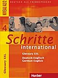 Schritte international 4. Glossary XXL Deutsch-Englisch German-English