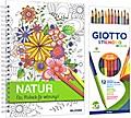 Kreativset Malbuch Natur