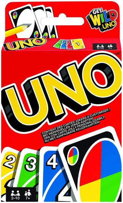 Mattel W2087 - UNO, Kartenspiel - Mattel Gmbh - Spielzeug, Deutsch, , ,