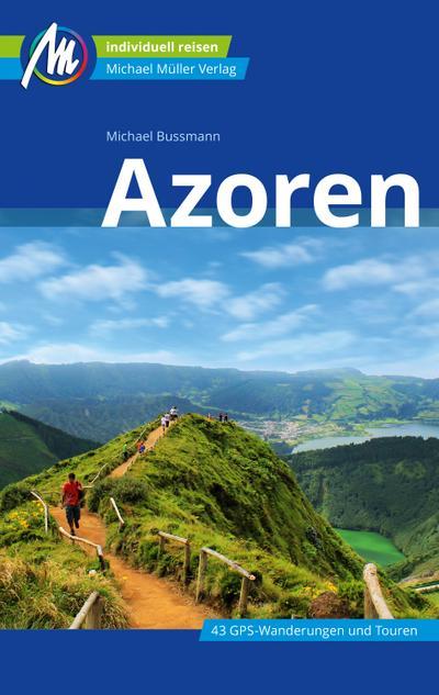 Azoren Reiseführer Michael Müller Verlag  Individuell reisen mit vielen praktischen Tipps.  Deutsch  244 farb. Fotos