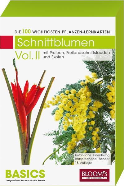 Pflanzen-Lernkarten: Die 100 wichtigsten Schnittblumen Vol. II: 100 Lernkarten mit Lernkartenbox - BLOOM's - Karten, Deutsch, Karl-Michael Haake, Basics Zeitgemäßes lernen für die Praxis, Basics Zeitgemäßes lernen für die Praxis