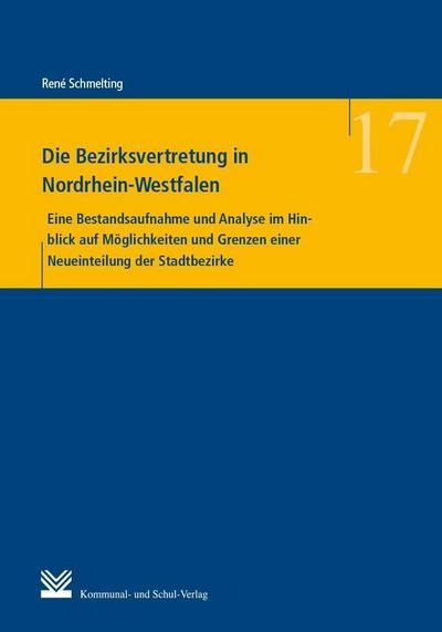 Die Bezirksvertretung in Nordrhein-Westfalen