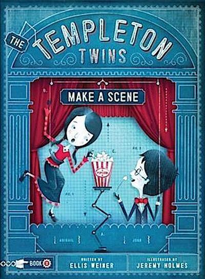 Templeton Twins Make a Scene
