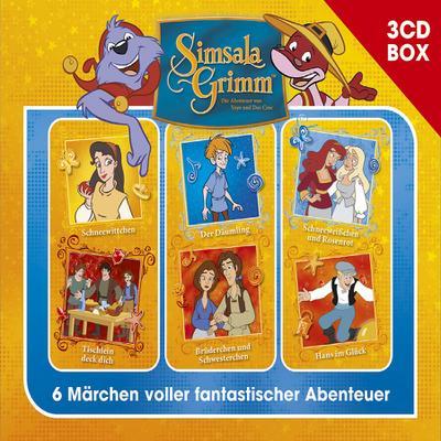 SimsalaGrimm 3-CD Hörspielbox. Vol.3, 3 Audio-CD