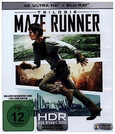 Maze Runner 1-3, 6 UHD-Blu-ray