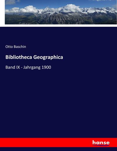 Bibliotheca Geographica