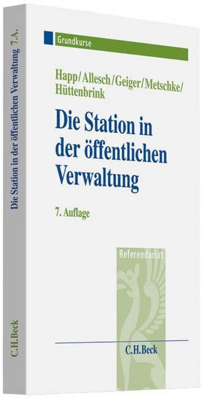 Die Station in der öffentlichen Verwaltung