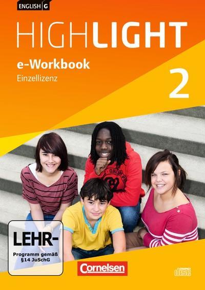 English G Highlight  02: 6. Schuljahr Hauptschule. e-Workbook auf CD-ROM