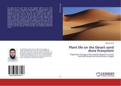 Plant life on the Desert sand dune Ecosystem