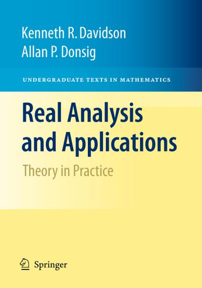 Real Analysis and Applications