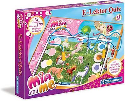 Clementoni 69255.2 - E-Lektor Quiz Mia and me