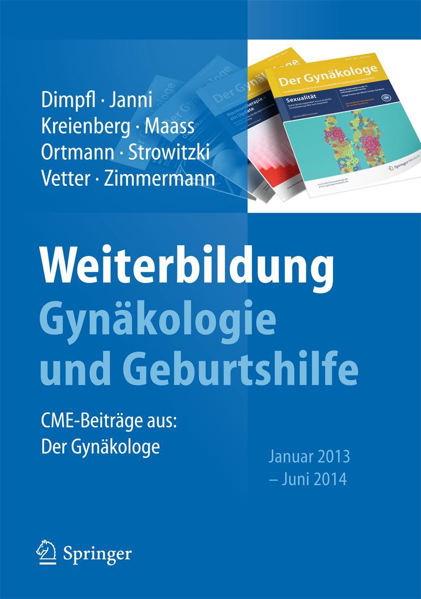 Weiterbildung Gynäkologie und Geburtshilfe Thomas Dimpfl