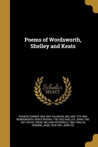 POEMS OF WORDSWORTH SHELLEY &