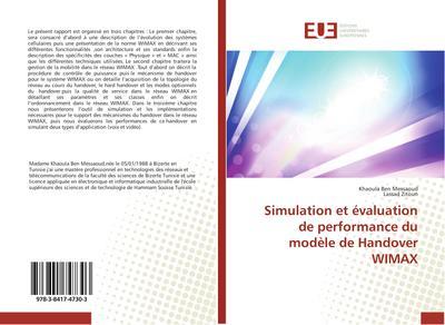 Simulation et évaluation de performance du modèle de Handover WIMAX