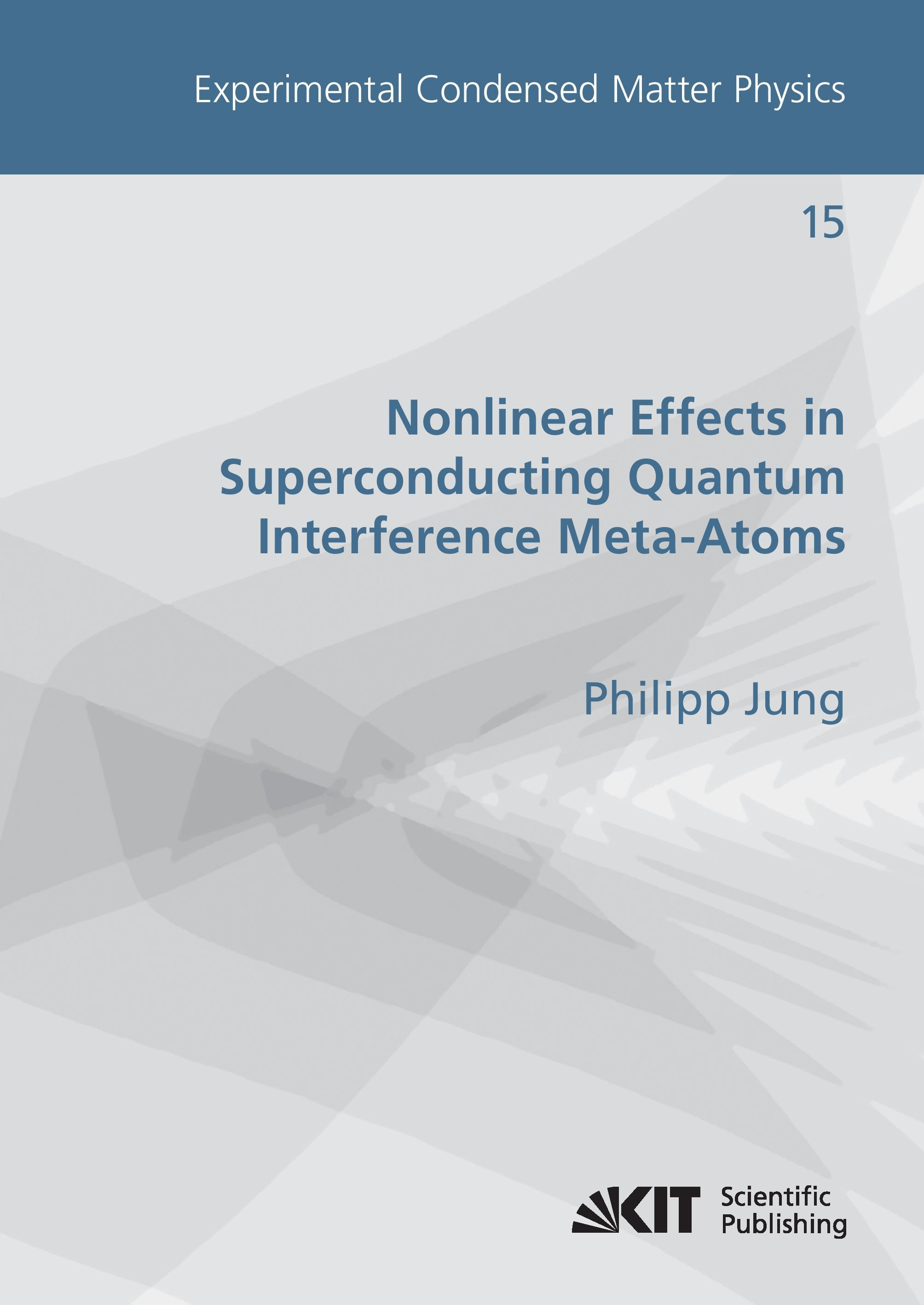 Nonlinear Effects in Superconducting Quantum Interference Meta-Atoms Philip ...