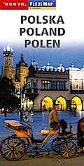KUNTH FlexiMap Polen 1 : 1 000 000