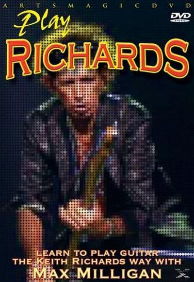 Play Richards - Learn To Play The Keith Richards Way