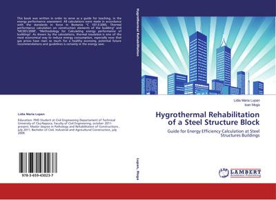 Hygrothermal Rehabilitation of a Steel Structure Block