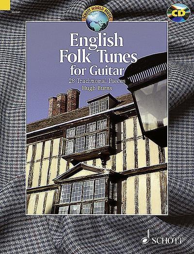 English Folk Tunes for Guitar, m. Audio-CD