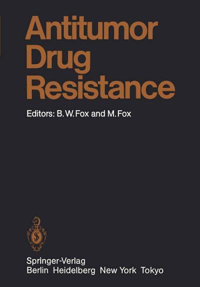 Antitumor Drug Resistance