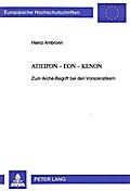 Apeiron-Eon-Kenon