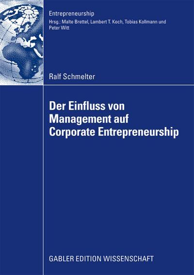 Der Einfluss von Management auf Corporate Entrepreneurship