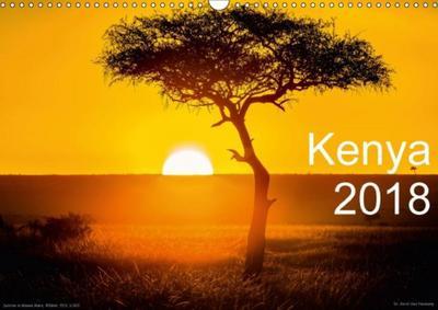 Kenya 2018 / UK-Version (Wall Calendar 2018 DIN A3 Landscape)