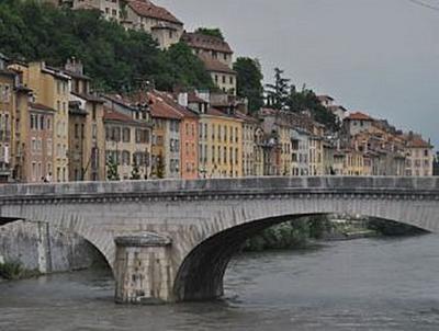 Grenoble - 100 Teile (Puzzle)
