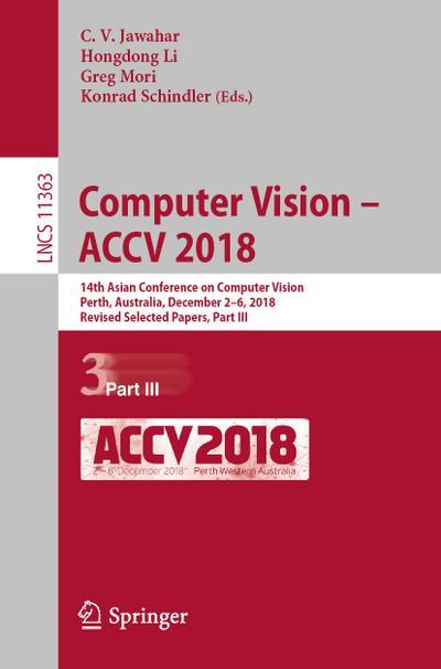 Computer Vision - ACCV 2018