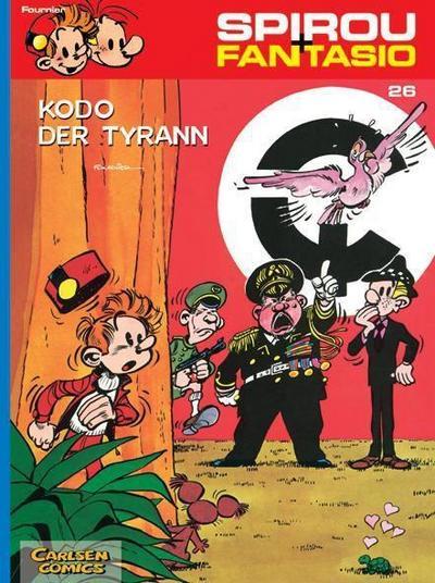 Spirou und Fantasio 26. Kodo, der Tyrann