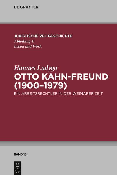 Otto Kahn-Freund (1900-1979)